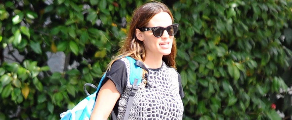 Jennifer Garner Looks Like Supermom While Taking Her Kids to Karate Class