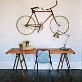 Yes, You Can Hang a Bike on Your Wall