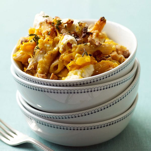 Pasta With Butternut Squash and Ricotta