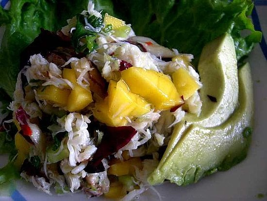 Recipe for Ellie Krieger's Easy Crab Salad With Mangoes