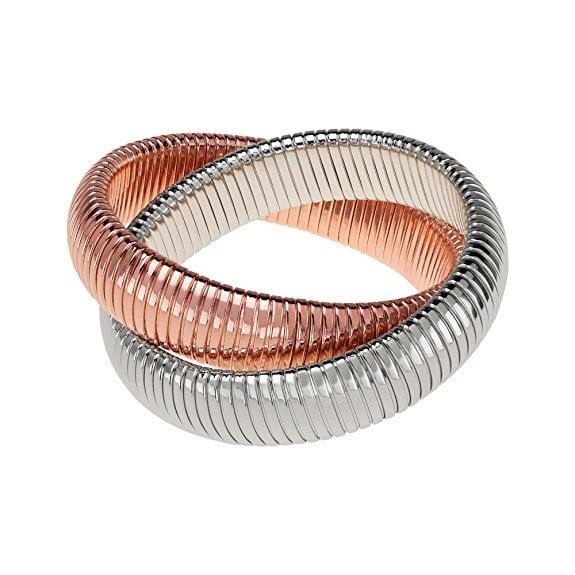 Janis Savitt Double Cobra Bracelet