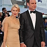 Naomi Watts and Liev Schreiber walked the red carpet at the premiere of The Reluctant Fundamentalist.