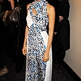 Thandie Newton looked very chic in Peter Pilotto.