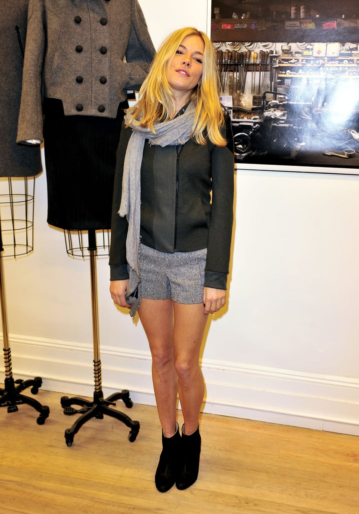 Sienna Miller at Rag & Bone Opening