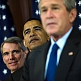 Working together during Bush's presidency in 2006