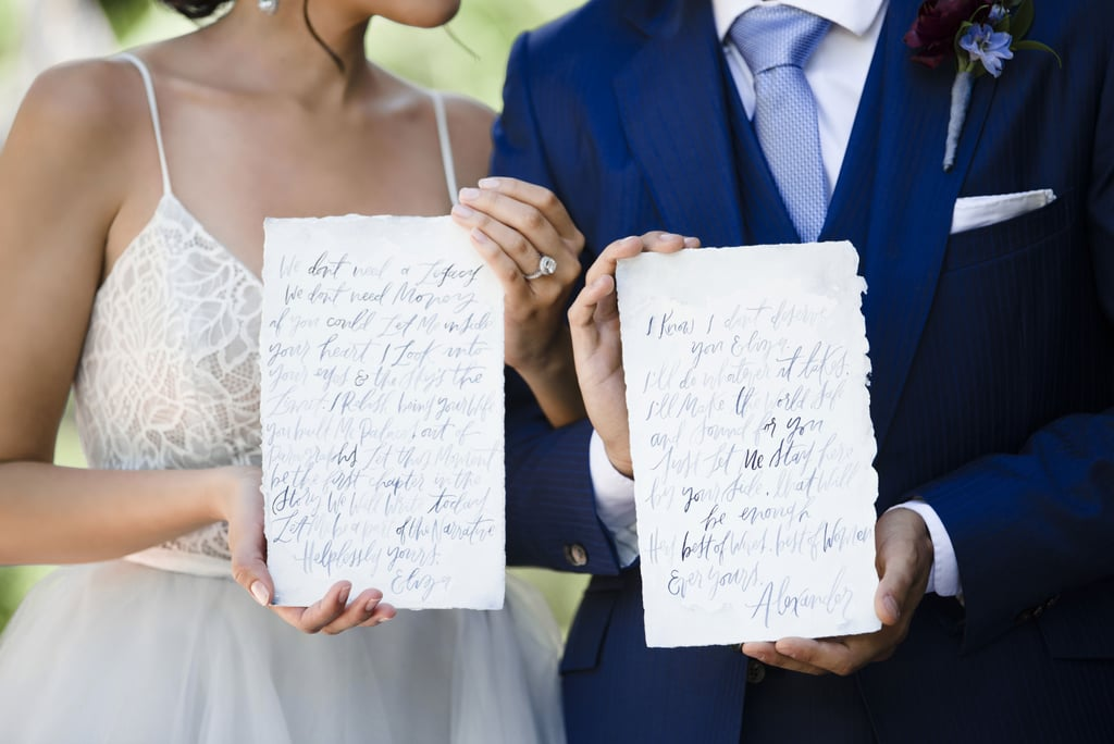 Hamilton-Inspired Wedding