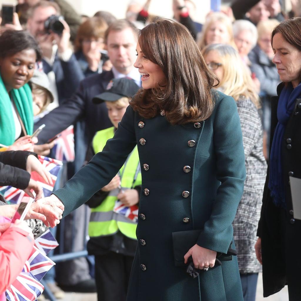 Kate Middleton's Green Dolce & Gabbana Coat