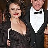 Helena Bonham Carter and Luke Evans