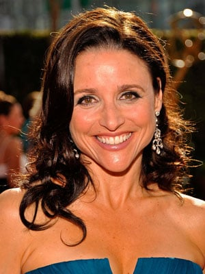 Photo of Julia-Louis Dreyfus at 2009 Primetime Emmy Awards