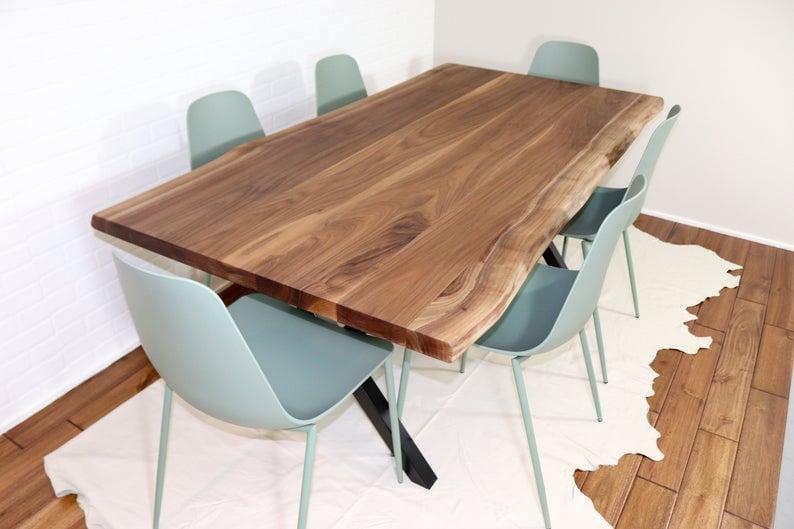 Live Edge Dining Live Edge Walnut Table