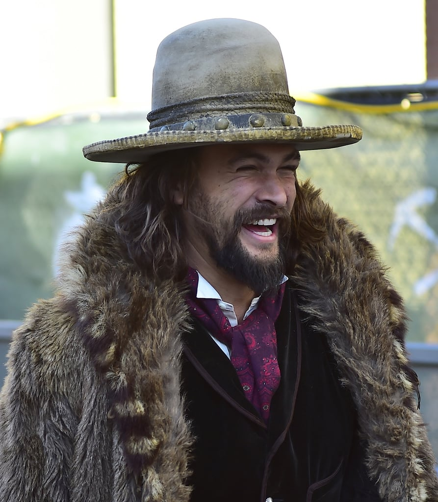 Jason Momoa is known for making people swoon with his handsome and rugged good looks, but there's something about his adorable laugh that really sends us over the edge. Whether he's spending time with his equally attractive family or just promoting his upcoming projects, we can't get enough of his beaming grin. See some of his best laughing moments ahead, then get another dosage of hotness with his shirtless snaps.       Related:                                                                14 Interesting Facts You Might Not Know About Jason Momoa                                                                   Jason Momoa's Evolution Is Proof That He Ages Like Fine Wine                                                                   13 Sexy Jason Momoa Interview Moments That'll Make You Wonder If He's Even Real