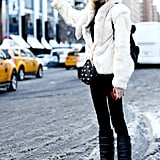 And when slush gets too bad, your best bet is to go with seen-better-days shoes that won't mind the rough treatment.