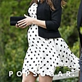 Pregnant Kate Middleton at a Wedding | Photos