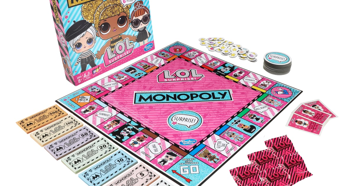 Hasbro LOL Surprise Monopoly Game 2019 | POPSUGAR Family - photo#48