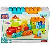 ABC Learning Train Building Set