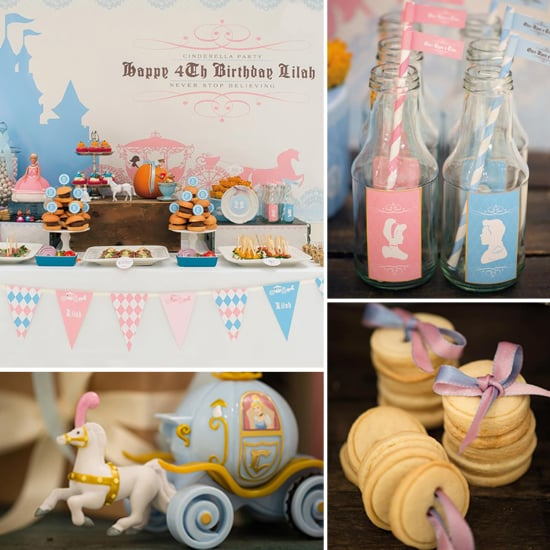 Pumpkins and Princesses! A Royal Cinderella Birthday Party