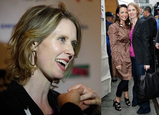 Photos of Cynthia Nixon Who Is Engaged to Christine Marinoni