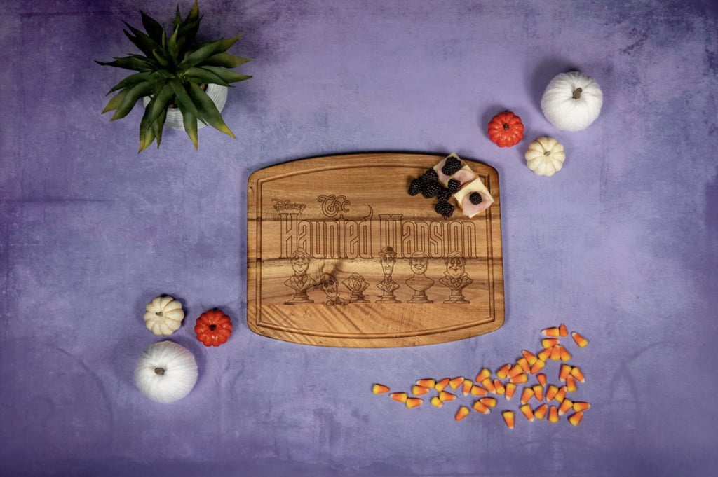 Haunted Mansion Singing Busts Cutting and Serving Board