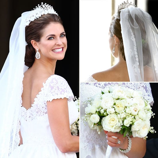 Pics princess madeleine of sweden 39 s valentino wedding for Swedish wedding dress designer