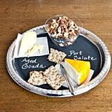 Chalkboard Snack Platter