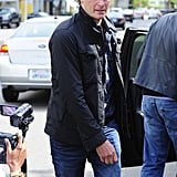 Rande Gerber went out to lunch with George Clooney in LA.