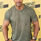 Dwayne Johnson at Central Intelligence Photocall in Madrid