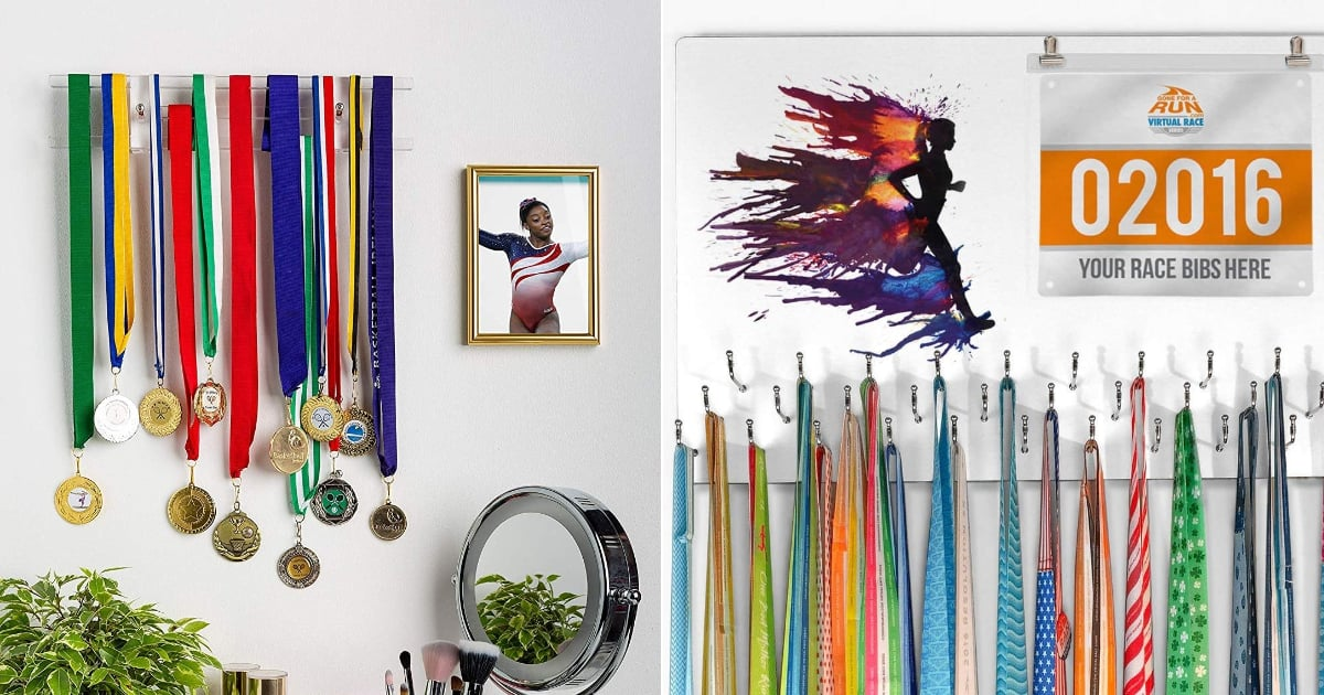 A Medal Rack Might Be the Single Best Gift For Any Runner You Know