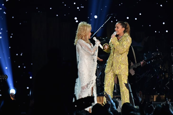 Grammys 2019 Australia: Miley Cyrus And Dolly Parton At The 2019 Grammys