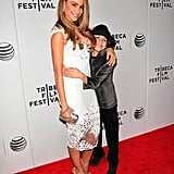 Sofia Vergara got close to her pint-size Chef costar Emjay Anthony at their premiere.
