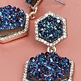BaubleBar Ashaya Druzy Drop Earrings
