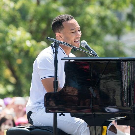 "John Legend ""Preach"" Song at Families Belong Together Video"