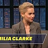Emilia Clarke on Meeting Prince William