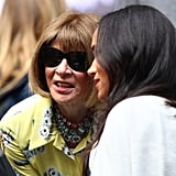 Meghan Markle With Anna Wintour at the US Open
