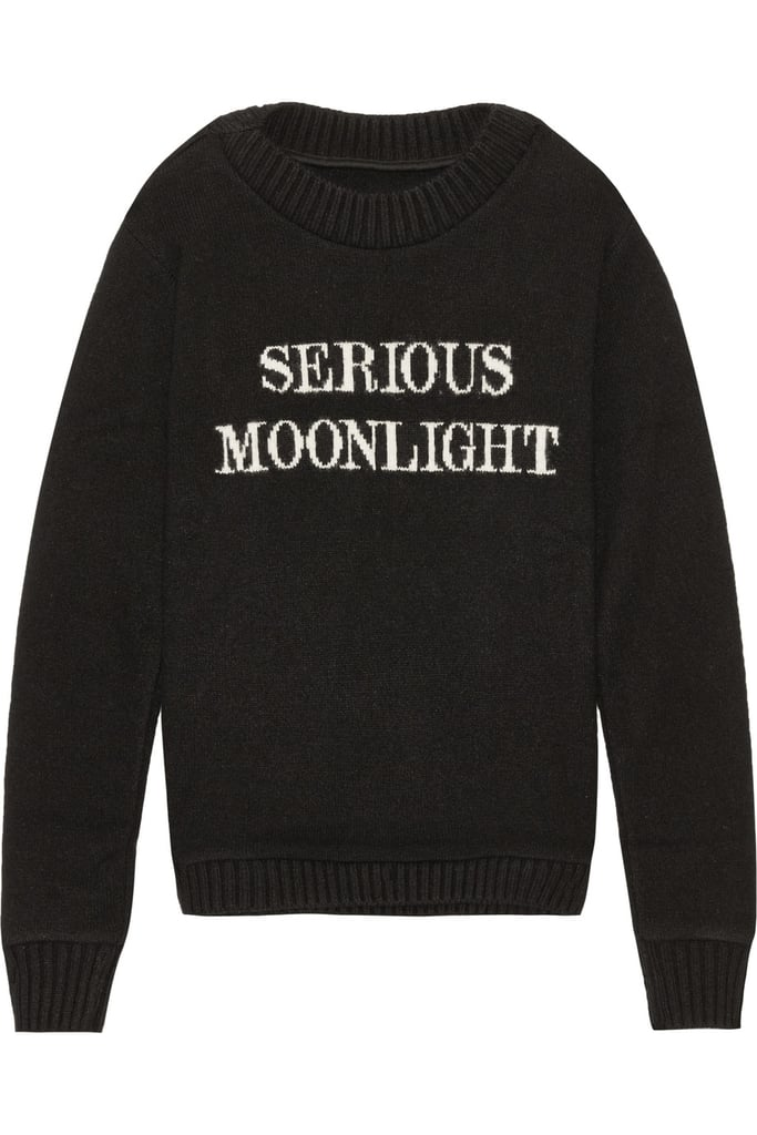 Serious Moonlight Cashmere Sweater