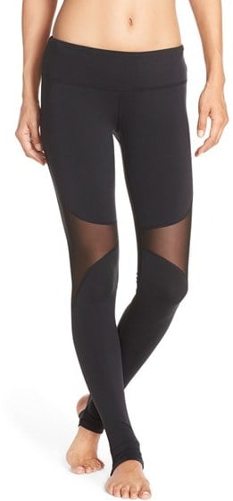 Alo Coast Mesh Inset Stirrup Leggings