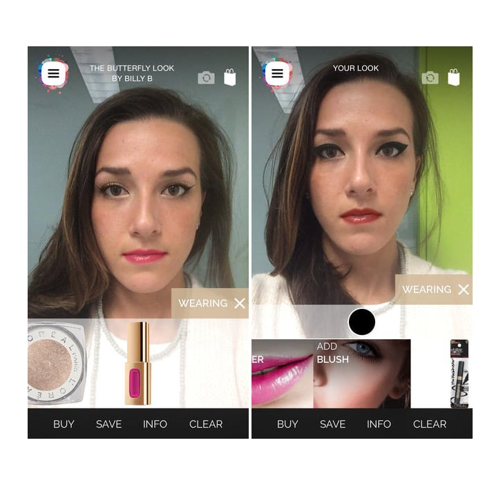 Augmented Reality Meets Makeup