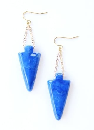 K. Amato Arrowhead Earrings ($48)