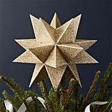 Moravian Gold Star Tree Topper