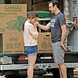Alison Brie and Jason Sudeikis filmed a scene of their new film Sleeping With Other People in New York.