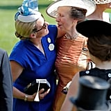 Zara Tindall and Princess Anne