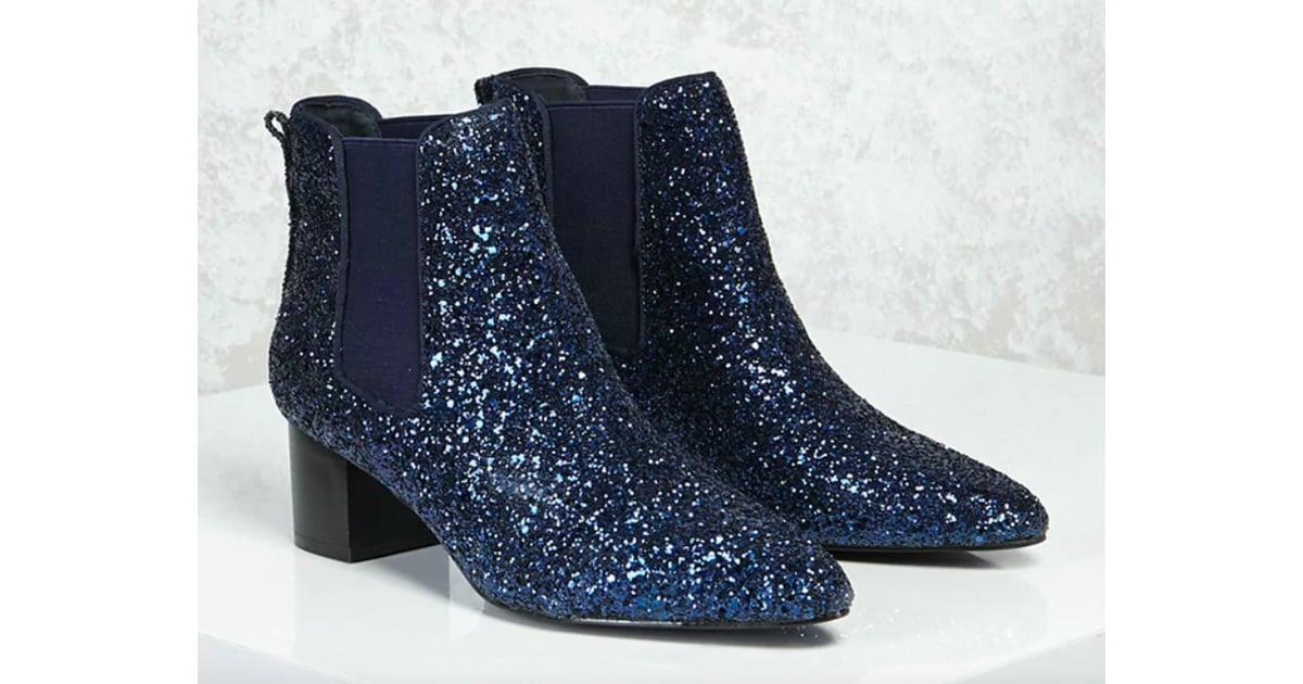 forever 21 glitter boots