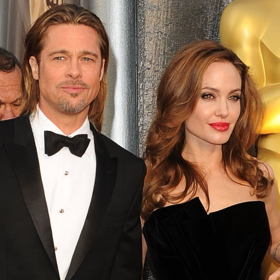 Brad Pitt and Angelina Jolie Pictures at Oscars 2012