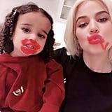 Dream Gives Khloé Kardashian a Makeover