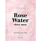 Bath & Body Works Illuminating Rose Water Sheet Mask