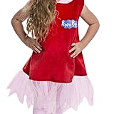 Peppa Pig Deluxe Dress Costume 2T