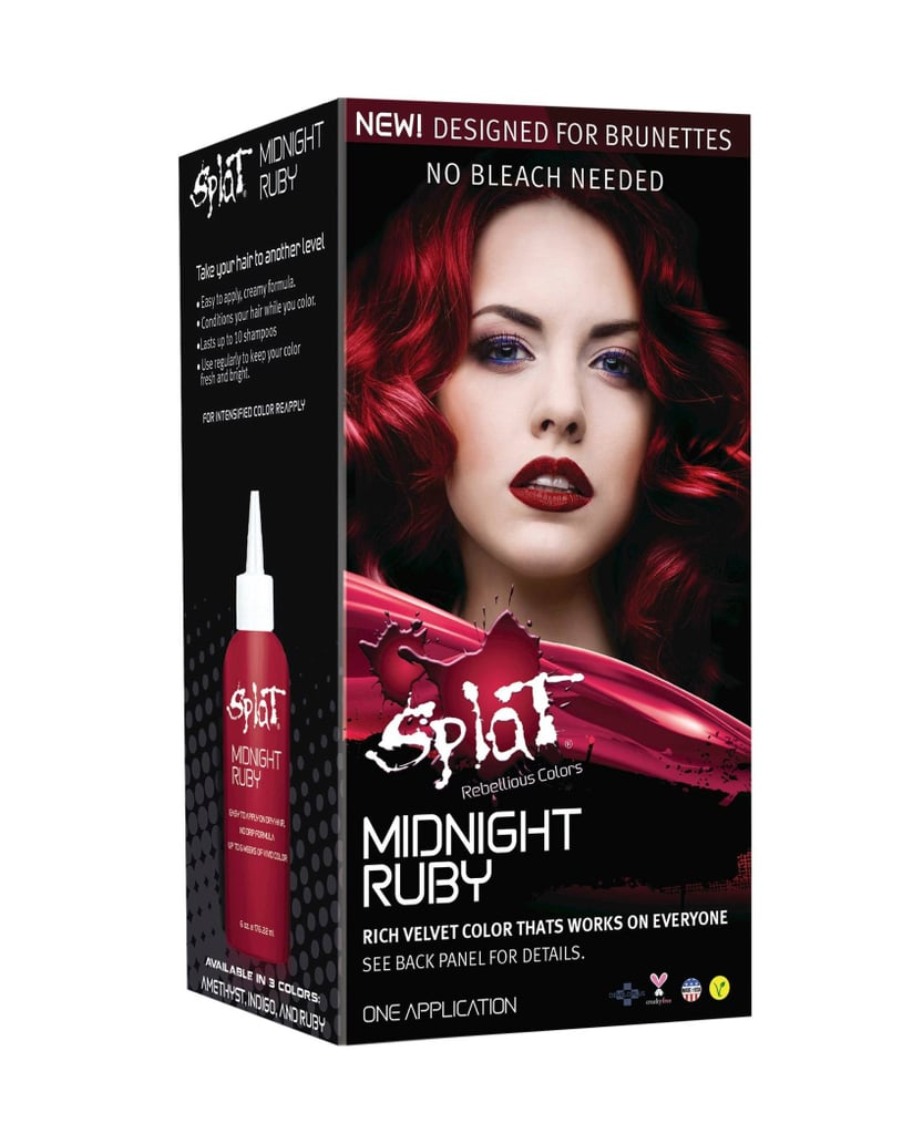 Splat Midnight Hair Color In Ruby 9 Can Brunettes Dye Their