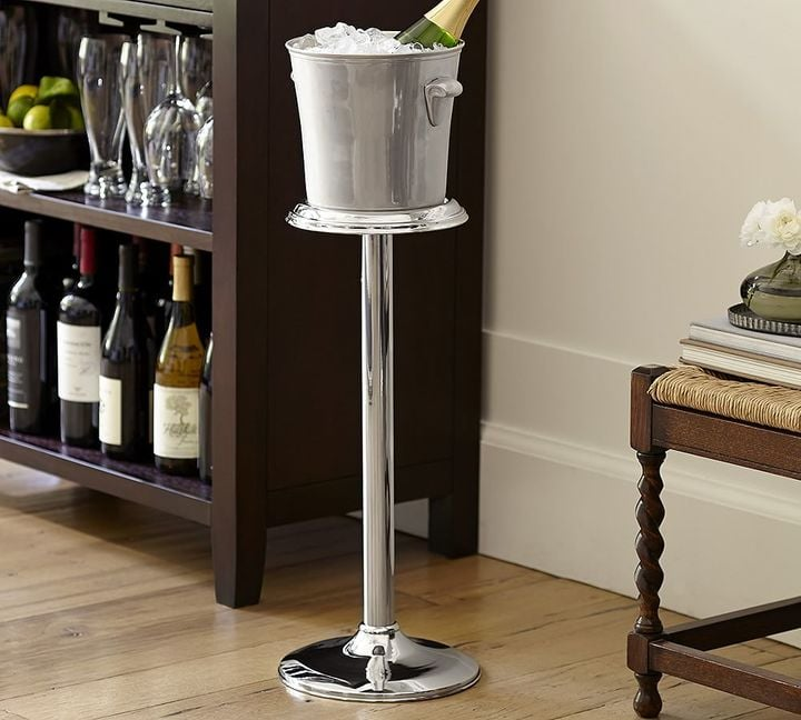 Harrison Wine Bottle Cooler With Stand