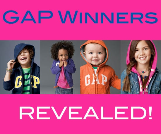 Gap Announces Winners of Modeling Contests