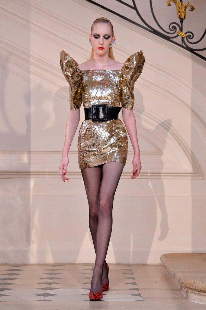 Lady Gaga's Saint Laurent Dress on the Fall '16 Runway