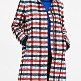 Italian Plaid Stadium Coat